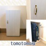 初めてDIYで、玄関に置く収納ボックスを作りました(tomotomo様)