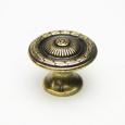 kth-k047 亜鉛合金つまみ〈光沢真鍮古美〉