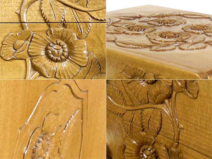 木彫り仙人様からの写真 細部のアップ